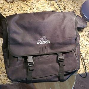 Adidas shoulder messenger school bag